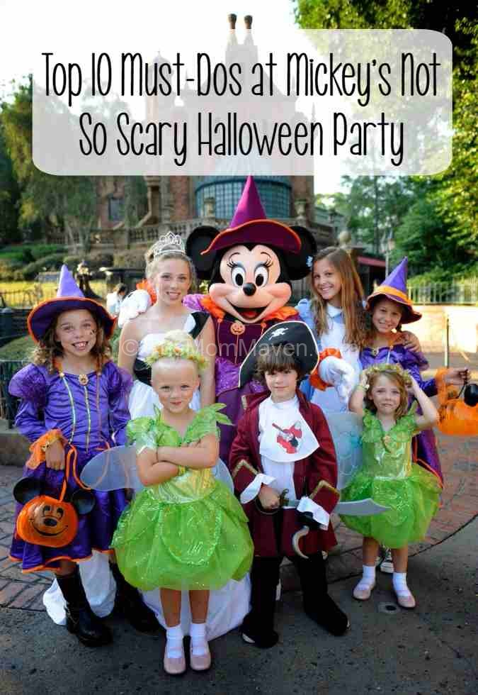 Top 10 Must-dos at Mickeys not so scary halloween party at the Magic Kingdom at Walt Disney World