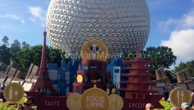 Opening Day Visit to the 2016 Epcot International Food and Wine Festival