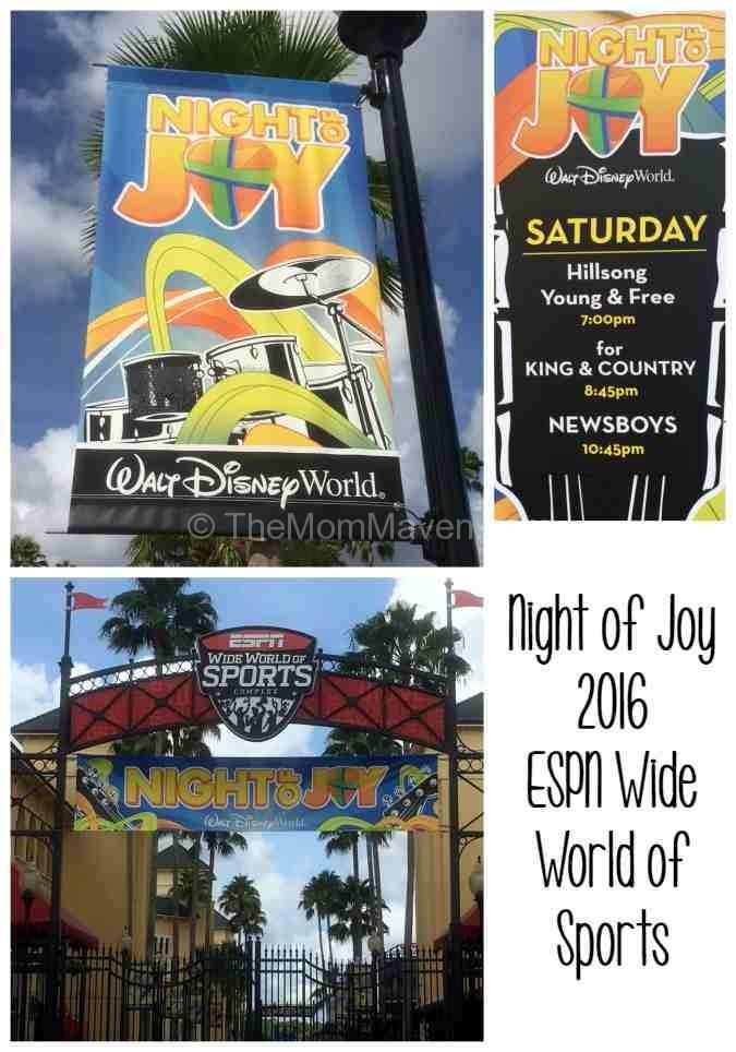 Night of Joy 2016 Walt Disney World ESPN Wide World of Sports