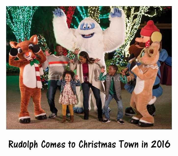 Rudolph Comes To Christmas Town In 2016 The Mom Maven