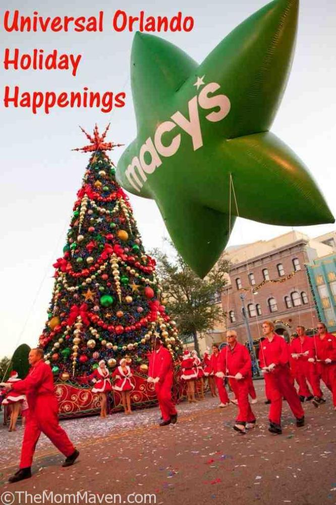 Beginning Dec. 3 and running daily through Jan. 1, families can celebrate the most wonderful time of the year at Universal Orlando Resort's Holidays celebration.