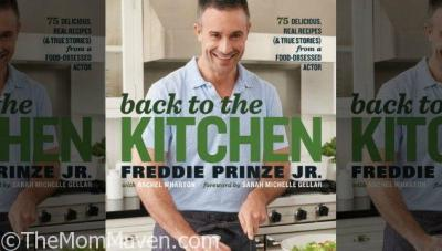 Autographed Freddie Prinze Jr Cookbook Giveaway