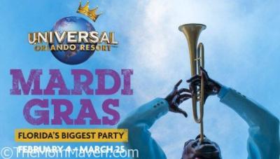 2017 Mardi Gras at Universal Orlando