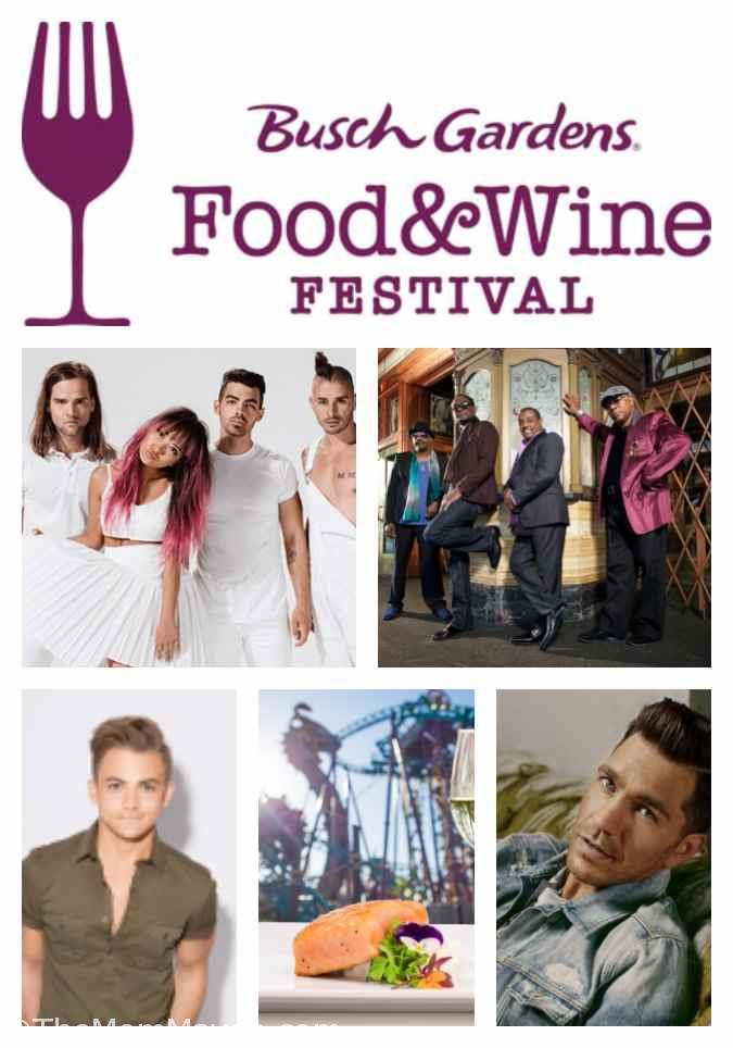 2017 Busch Gardens Tampa Bay Food And Wine Festival The Mom Maven