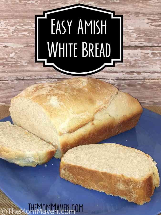 This easy Amish white bread recipe is a perfect complement to soups and stews. It is also great for sandwiches.