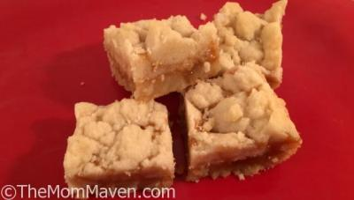 Caramel Butter Bars