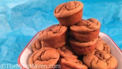 Gluten Free Peanut Butter Banana Blender Muffins