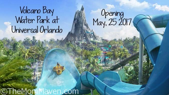 Volcano Bay Water Park at Universal Orlando Opening in May