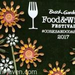 Our Visit to the 2017 Busch Gardens Food and Wine Festival