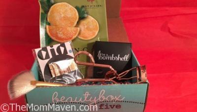 April Beauty Box 5 Samples