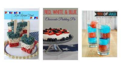 25 Patriotic Recipes to Add Some Red White and Blue to your Summer Celebrations