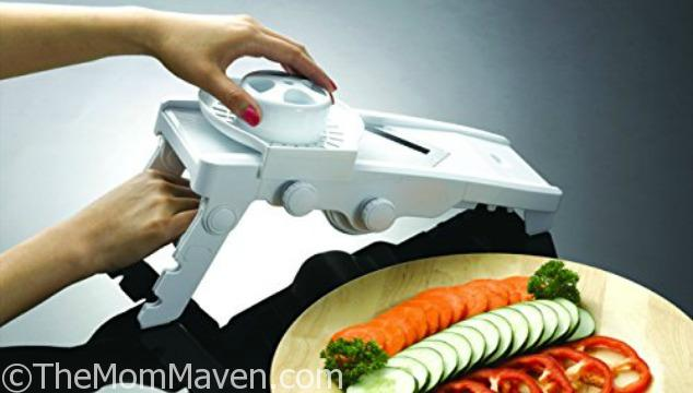 After using this mandoline slicer to make my baked cayenne fries, I threw my other 2 away!