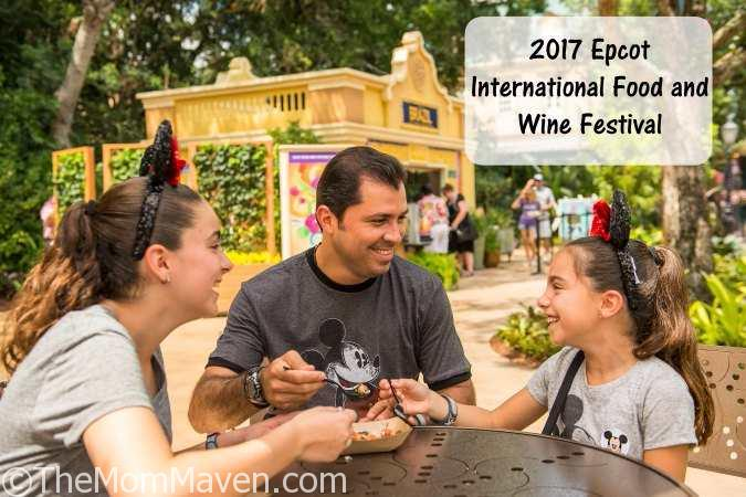 The 22nd Epcot International Food and Wine Festival runs Aug. 31-Nov. 13, 2017