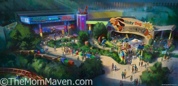 Toy Story Land coming to Walt Disney World in 2018.