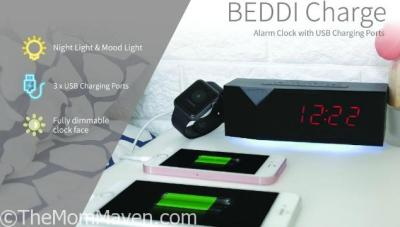 The BEDDI Charge Helps You Start Your Day Fully Charged