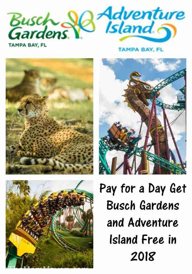 Busch Gardens Tampa Bay And Adventure Island Ticket Deal