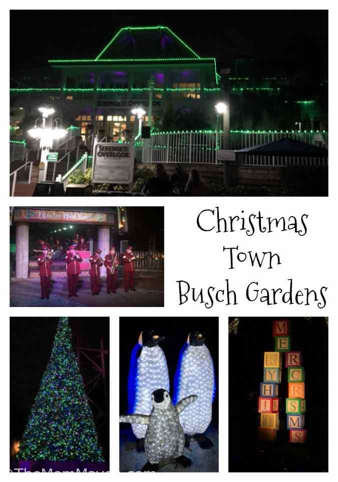 Our Visit To Christmas Town Busch Gardens Tampa Bay The Mom Maven