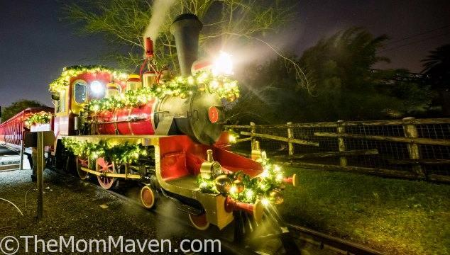 Busch Gardens Tampa Bay's annual holiday tradition, Christmas Town, beams bright with twinkling lights, spectacular shows, holiday shopping and even a visit to Santa's House