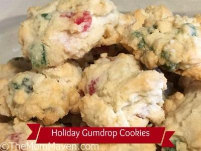 Holiday Gumdrop Cookies Recipe and Cookbook Giveaway
