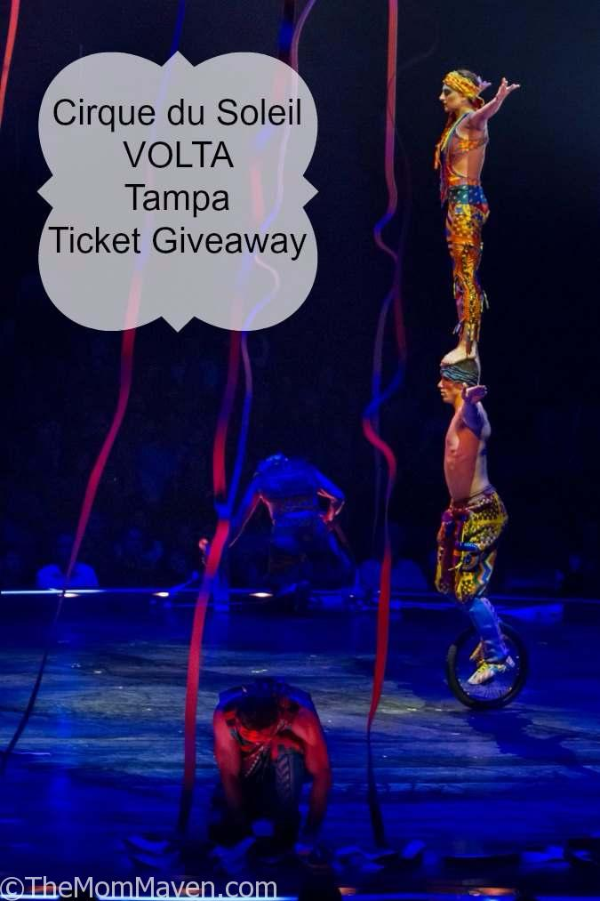 Cirque du Soleil is thrilled to announce a new production that will premiere February 2018 in Tampa: Cirque du Soleil VOLTA. Enter to win one of 2 pairs of tickets to opening night.