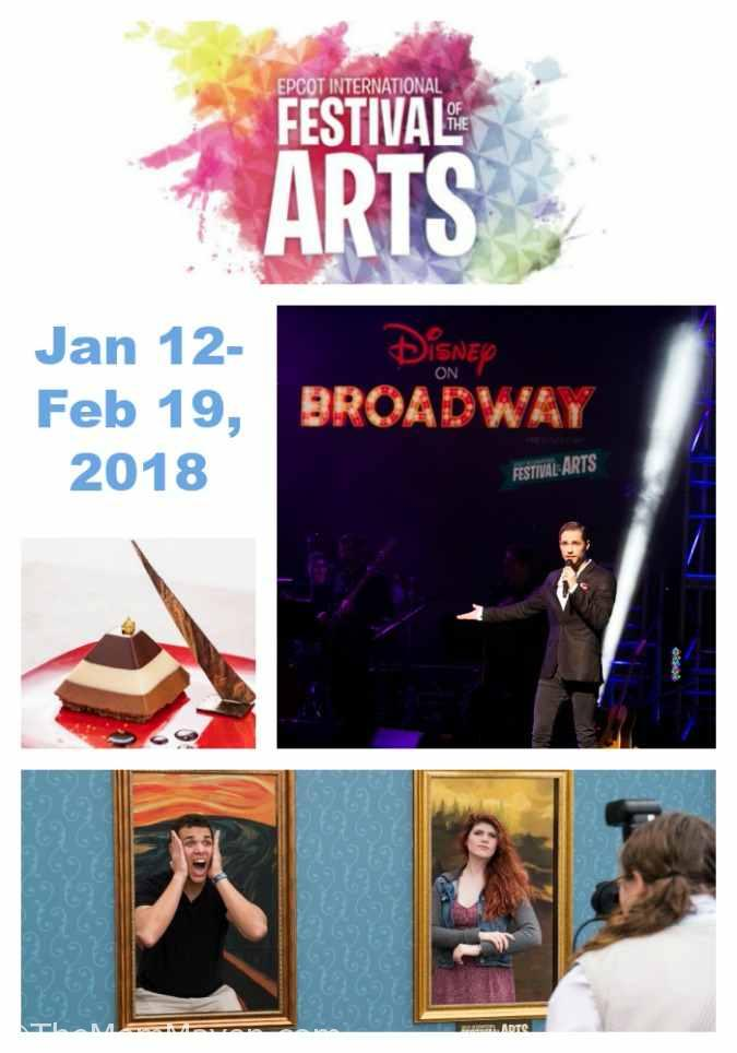 I'm so excited! Returning to Epcot for a second year, the expanded Epcot International Festival of the Arts will celebrate all things art – performing, visual and culinary – from January 12 to February 19, 2018.