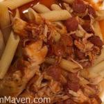 Crockpot Pepperoni Chicken with Penne