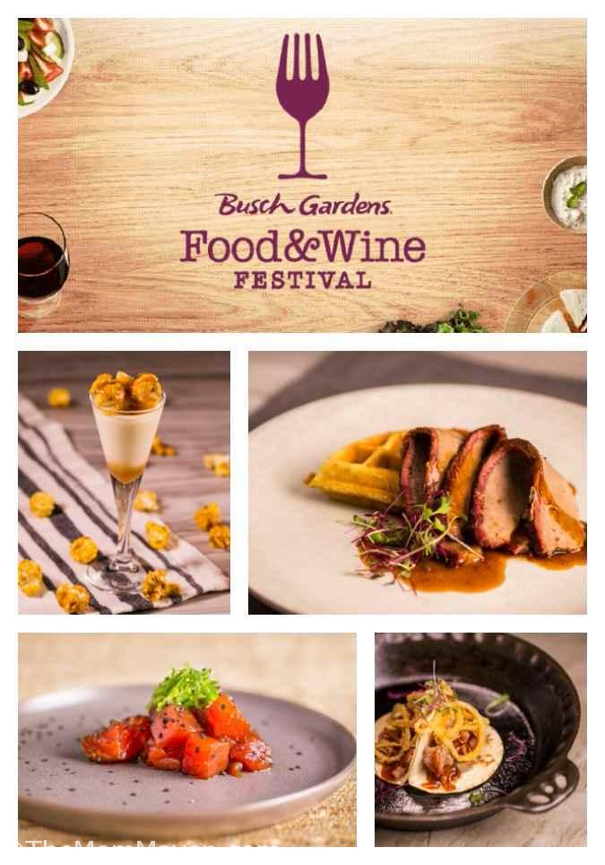 The Busch Gardens Food & Wine Festival runs Saturdays and Sundays, March 3 through April 29 and is included with any Annual Pass, Fun Card or daily admission to the park.