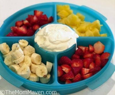 Super Simple Marshmallow Fruit Dip