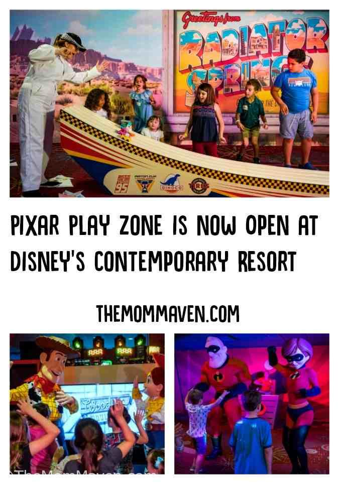 """The new Walt Disney World entertainment experience, Pixar Play Zone, is a pilot program that takes place nightly from 6-10:30 p.m. It transports young guests to a world full of excitement and adventure with their favorite characters from Disney•Pixar animated films """"Toy Story"""" and """"The Incredibles!"""""""