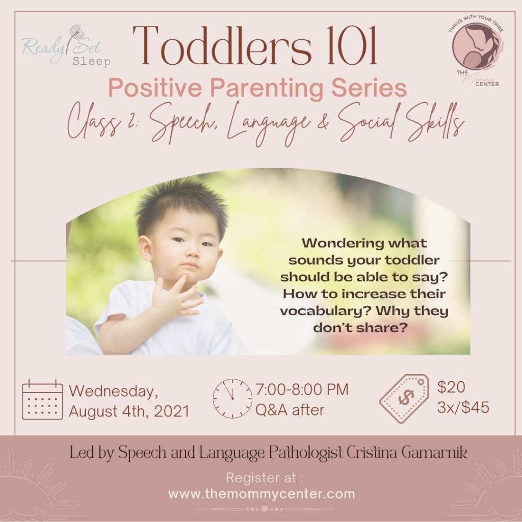 speech and language class for parents