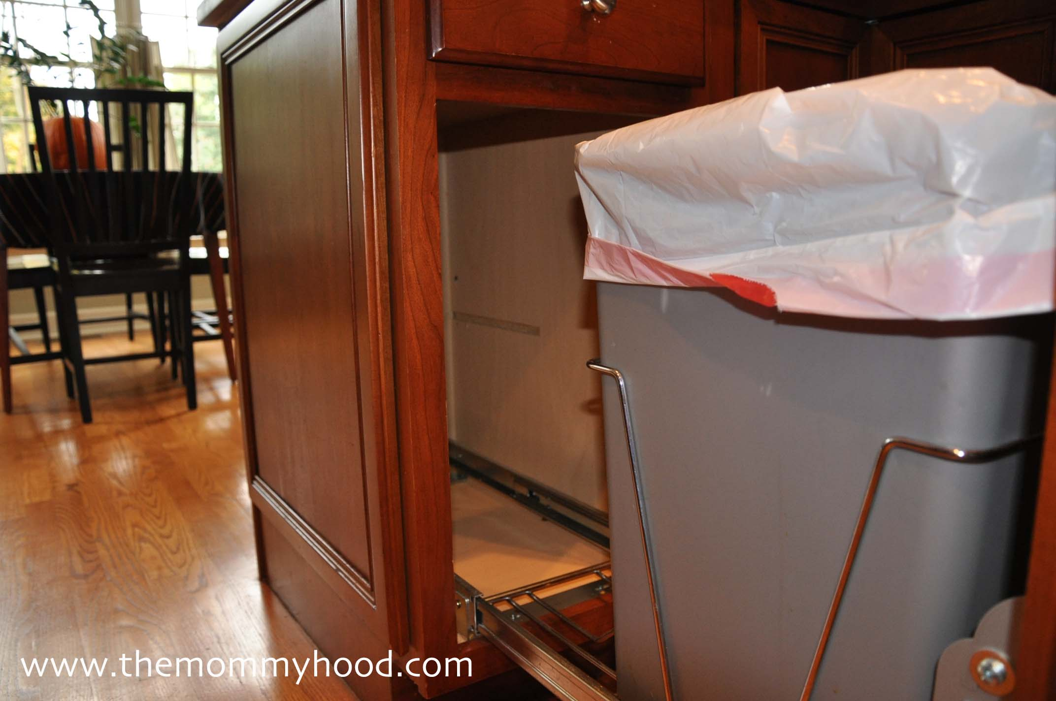 hide kitchen trash can builder hidden garbage cans roselawnlutheran