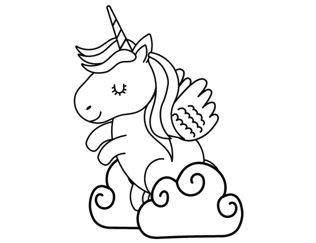 Unicorn Coloring Pages FREE PRINTABLES! -