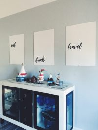 Dining room wall art - DIY decor on a budget - Mommy My Way