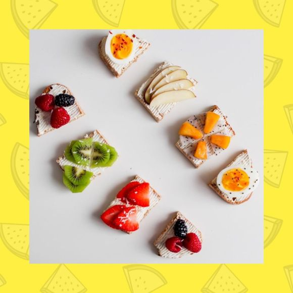 A colorful healthy food platter to deal with a fussy eater