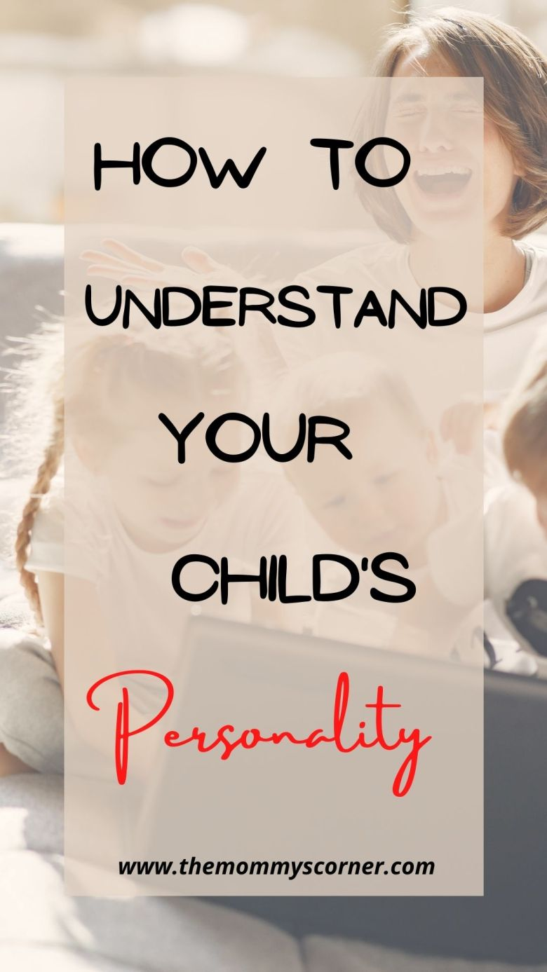 Understanding your child's personality