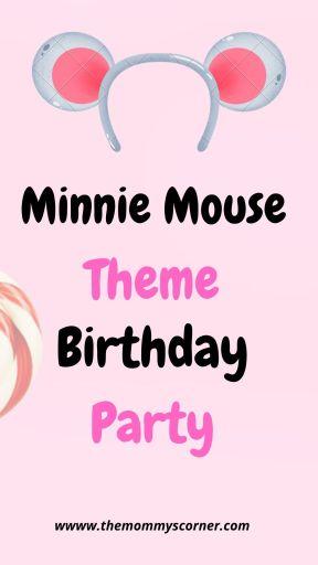 Minnie Mouse Theme Birthday party
