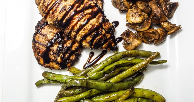 Balsamic Glazed Chicken Breasts