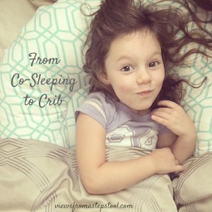 cosleeping to crib square
