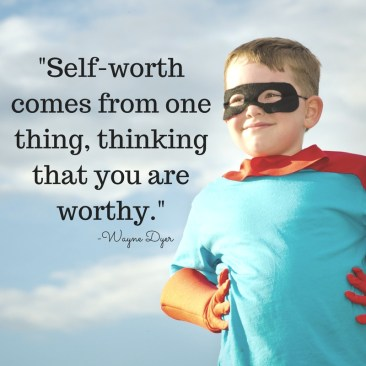 Empowering kids is something that we as parents can really do. By acknowledging and appreciating choices and behavior, we can increase self-worth.