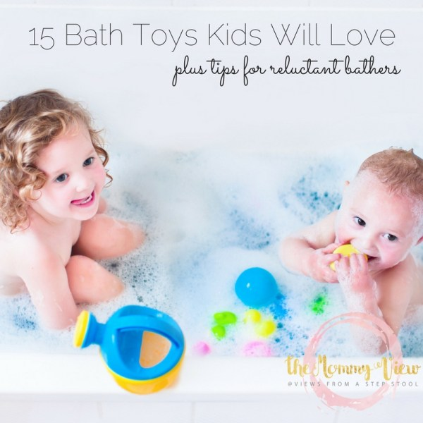 These kids bath toys will make bath time fun for even the most reluctant bathers. Plus check out these ways you can make bath time extra fun!