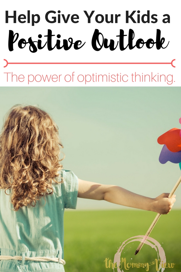Some practical tips to raising optimistic kids, from positive language to ditching negative self-talk. Children with a positive outlook perform better academically and athletically.