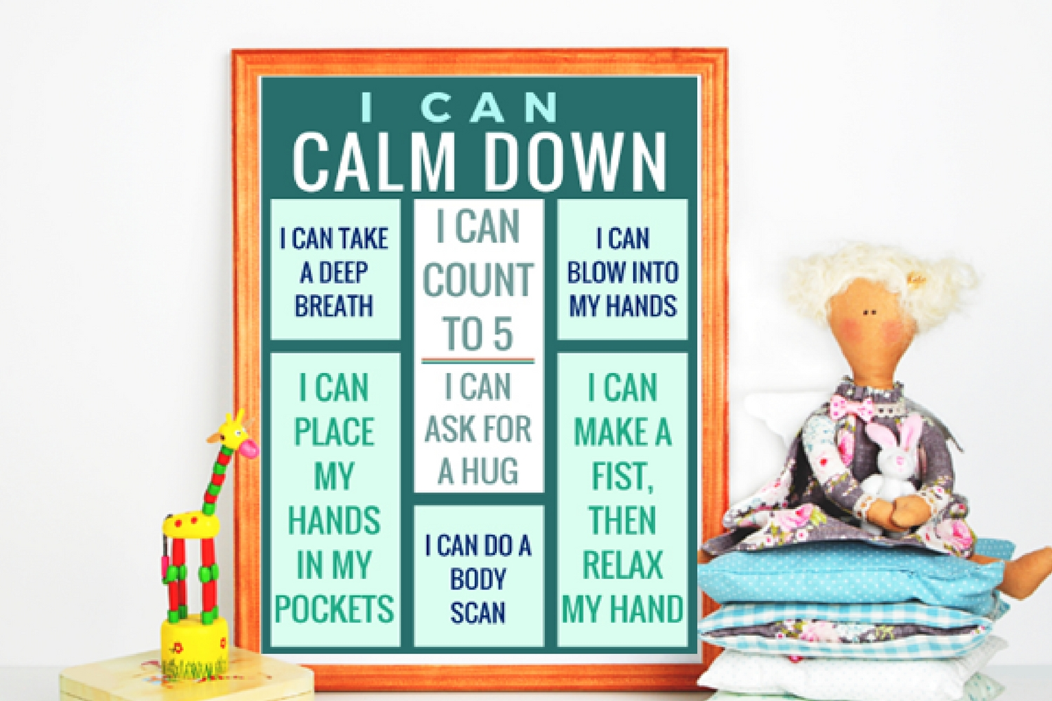 i can calm down poster