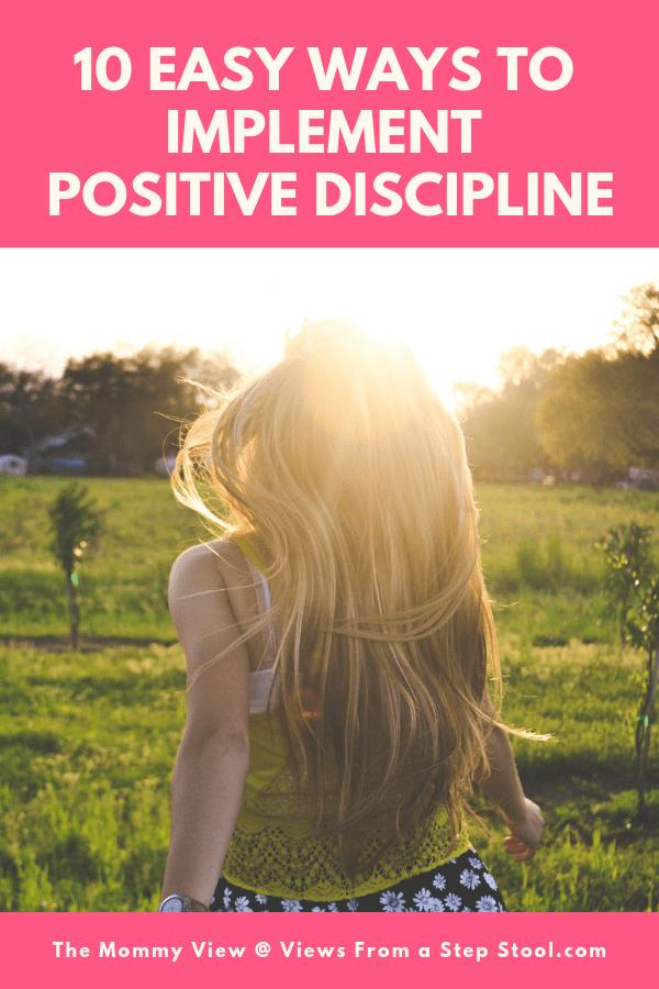 positive discipline pin new