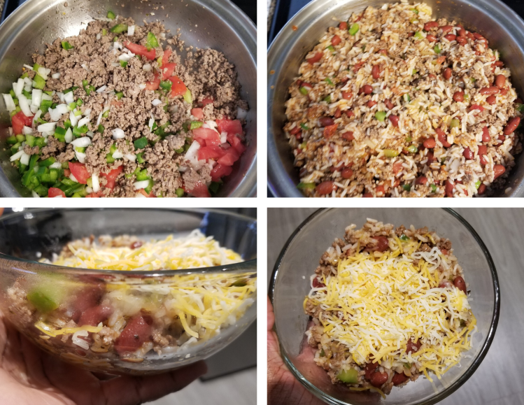 Healthy beef skillet recipe from Always Eat After 7 pm.