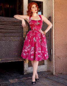 western dress colour