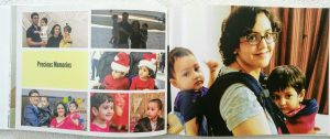 Customized photo book