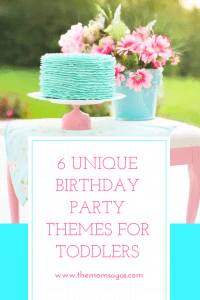 Unique birthday party themes for toddlers