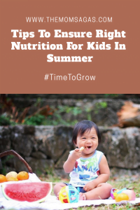 Tips To Ensure Right Nutrition For Kids In Summer