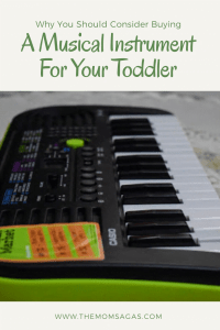 Benefits of a musical instrument for your toddler