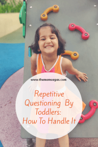 How to handle repetitive questioning by toddlers